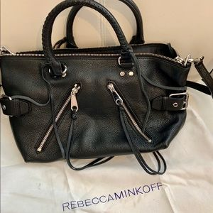 Rebecca Minkoff large black purse
